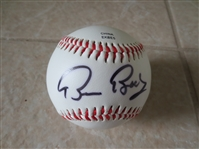 Autographed Bruce Bochy baseball San Francisco Giants manager future HOFer