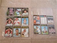 (15) 1971 Topps Baseball Cards straight from VENDING.  Beautiful.  Send to PSA?