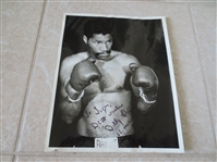 Autographed Billy Daniels Boxing Photo fought Muhammad Ali in 1962, died 2002
