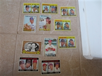 (1100) 1967 Topps Baseball Cards with NO Hall of Famers