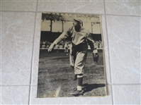 "1930s-40s Christy Mathewson George Burke Original 14"" x 11"" Photo HOFer"