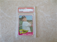 1965 Topps Mickey Mantle #350 PSA 3 vg baseball card
