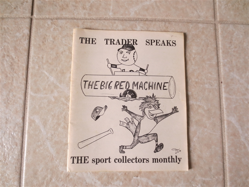 October 1970 The Trader Speaks hobby publication Tough to find this early!