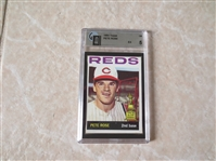 1964 Topps Pete Rose baseball card #125 Graded GAI 5 Ex