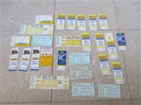 (25) 1980s-90s College and Pro basketball tickets:  Lakers, UCLA, LA Sparks including playoff