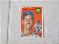 1954 Topps Al Kaline rookie baseball card #201  Nice condition!