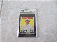 1933 Sport Kings Ty Cobb GAI 4 vg-ex baseball card #1 WOW!