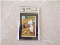 1951 Bowman Willie Mays GAI 6.5 ex-mt+ rookie baseball card #305 WOW!