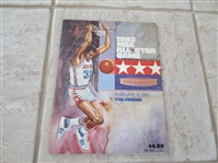 1983 NBA All Star Game program at the Forum