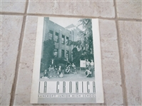 Summer 1947 Bancroft Junior High Los Angeles school yearbook