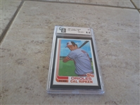 1982 Topps Traded Cal Ripken Jr. GAI nmt-mt+ 8.5  #98T  No qualifiers.  A beauty!