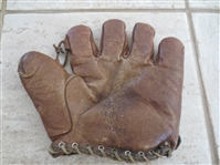 1920s Walter Johnson Store Model A9 baseball glove 10""