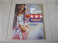 1983 NBA All Star Game basketball program Los Angeles beautiful condition