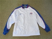 Los Angeles Clippers basketball jacket by Reebok size large