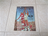 1974 Cal Coaches Classic All Star Basketball program Freeman Williams