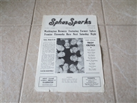 1940 Philadelphia Sphas American Basketball League program vs. Troy Celtics RARE