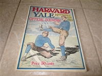 1922 Harvard at Yale football program