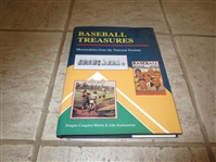1992 Hardcover book Baseball Treasures Memorabilia from the National Pastime by Martin & Kashmanian
