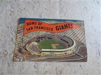 Early San Francisco Giants photo and postcard beauties!