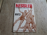 1972 Kessler Basketball Fans Guide  Covers ABA and NBA  Tough to find!