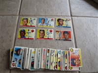 (95) 1955 Topps Baseball cards including Podres, Gilliam, Groat, Lopat, Rhodes, and Bilko