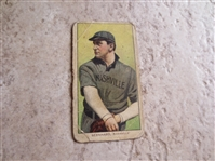 1909 T206 Bill Bernhard Nashville baseball card with Old Mill back RARE