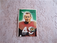 1955 Bowman Tom Landry football card #152 in affordable condition