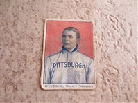 1910 Tip Top Bread D322 Paddy OConnor Pittsburgh Pirate baseball card  RARE