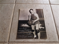 "Autographed Moe Frankel 10"" x 8.5"" photo ABL American Basketball League star"