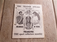 January 1970 issue of the Trader Speaks  Lew Alcindor cover