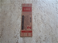 1967 NBA Playoffs Full Ticket at Los Angeles Lakers Game 2 in very nice condition