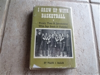 1952 I Grew Up With Basketball by Frank Basloe----The Classic Book on Turn of the Century Pro Basketball
