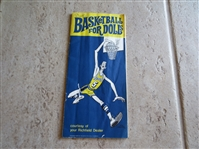 1967 Los Angeles Lakers Basketball for Dolls advertising booklet from ARCO