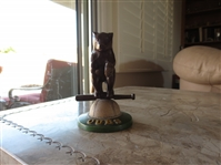 Circa 1908 Chicago Cubs Statue Figurine in very nice condition
