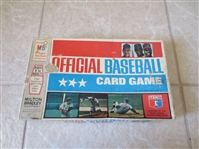 1970 Official Baseball Card Game by Milton Bradley  NO Cards