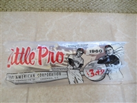 1961 Little Pro Bag Set (no batting Tee stand) with Dick Groat and Pete Runnels