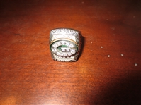 2011 Green Bay Packers shareholder Super Bowl 45 ring with REAL DIAMONDS---Aaron Rodgers MVP