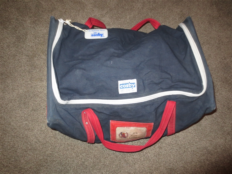 1980's Rod Carew California Angels #29 Travel Bag by Cosby  WOW!