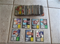 1962 Topps Football Cards Complete Set in beautiful condition