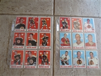 1970-71 Topps Hockey Complete Card Set in very nice condition!