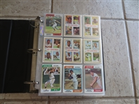 1974 Topps Baseball Card Complete Set in Nice Condition!  Includes Traded Set.