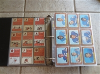 1966 Topps Football Card Complete Set in BEAUTIFUL condition--missing Funny ring card
