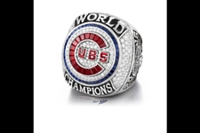 2016 Jostens World Series Chicago Cubs 10K White Gold Limited Edition Ring  1 of only 108 made