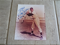 "Autographed Willie Mays 8"" x 10"" color photo"