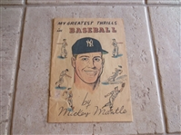 1957 Mickey Mantle Comic Book VERY RARE
