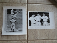 (2) 1949 & 1950 Joe DiMaggio Wire Photos by AP