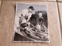1952 Duke Snider Associated Press Wire Photo