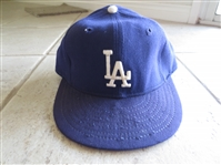 Circa 1976 Don Sutton Game Worn Autographed Cap  WOW!