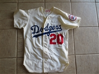 1976 Don Sutton Game Worn Home Jersey with NL Centennial Patch  Hall of Famer!